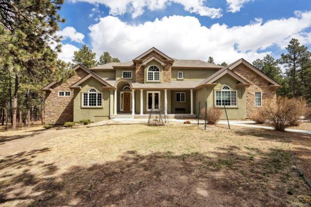 19525 Still Glen Drive, Colorado Springs, CO 80908 (#3965350) :: The Peak Properties Group