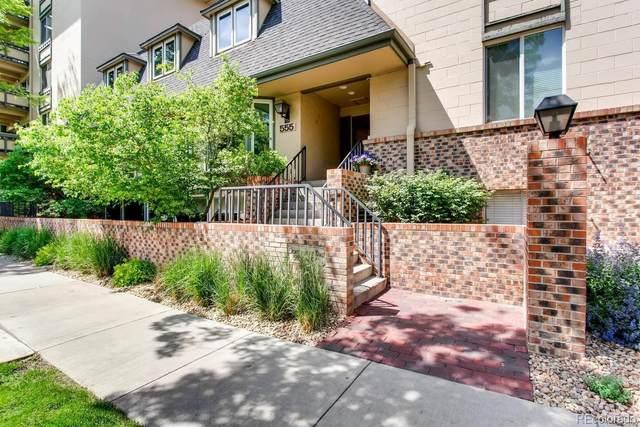 555 E 10th Avenue #511, Denver, CO 80203 (#3966699) :: The Griffith Home Team