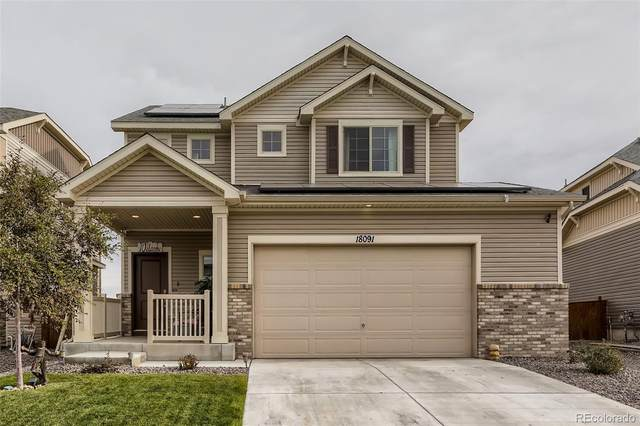 18091 E 108th Place, Commerce City, CO 80022 (#3970333) :: The DeGrood Team