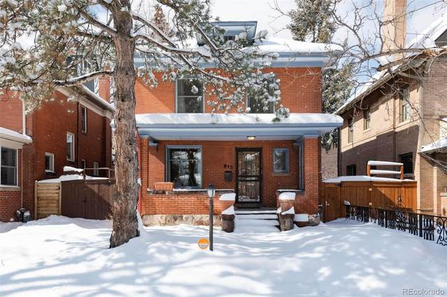 815 N Marion Street, Denver, CO 80218 (#3972689) :: Hudson Stonegate Team