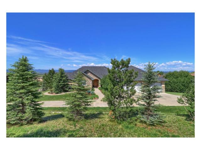 1361 Chalk Hill Place, Castle Rock, CO 80104 (#3976797) :: The Peak Properties Group