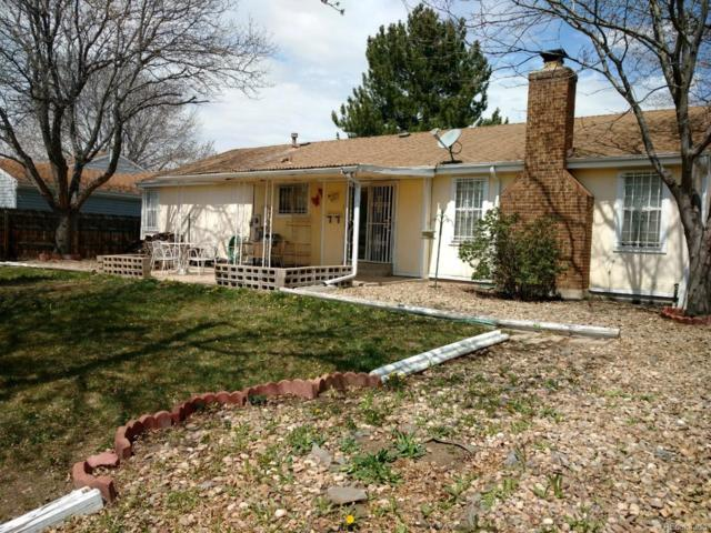 8726 W Indore Drive, Littleton, CO 80128 (#3981545) :: The Pete Cook Home Group