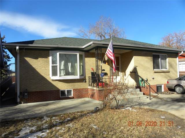 1543 S University Boulevard, Denver, CO 80210 (#3981718) :: The Peak Properties Group