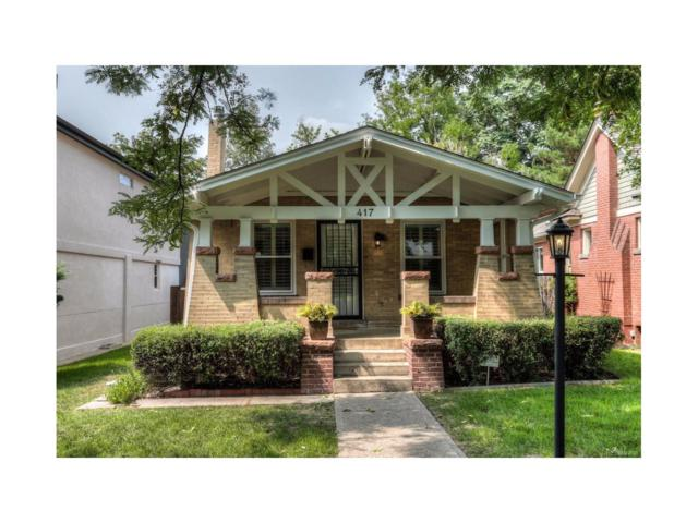 417 S Gilpin Street, Denver, CO 80209 (MLS #3981774) :: 8z Real Estate