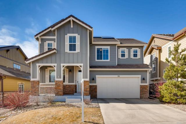 714 Tiger Lily Way, Highlands Ranch, CO 80126 (MLS #3989062) :: Kittle Real Estate