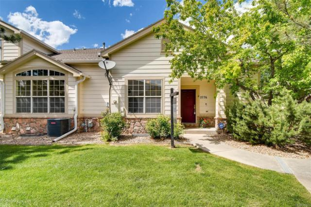 2776 Whitetail Circle #2776, Lafayette, CO 80026 (MLS #3989343) :: Bliss Realty Group