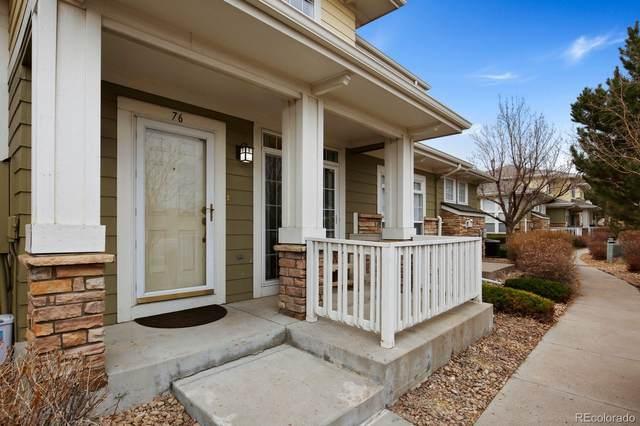 3000 E 112th Avenue #76, Northglenn, CO 80233 (#3992415) :: HergGroup Denver