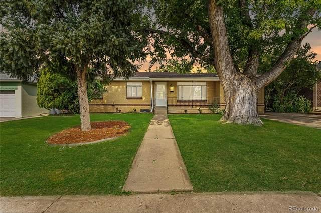 1262 S Eaton Street, Lakewood, CO 80232 (MLS #3992612) :: Stephanie Kolesar