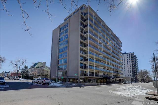 888 N Logan Street 9G, Denver, CO 80203 (#3992743) :: Hudson Stonegate Team