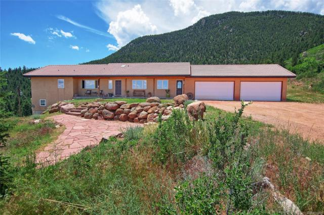4330 Green Mountain Drive, Colorado Springs, CO 80921 (#3993616) :: Mile High Luxury Real Estate