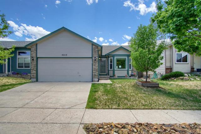 5215 Hawk Springs Drive, Colorado Springs, CO 80923 (#3993891) :: The Pete Cook Home Group