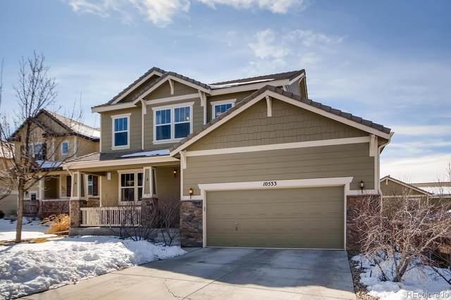10533 Hillrose Street, Parker, CO 80134 (MLS #3995486) :: 8z Real Estate