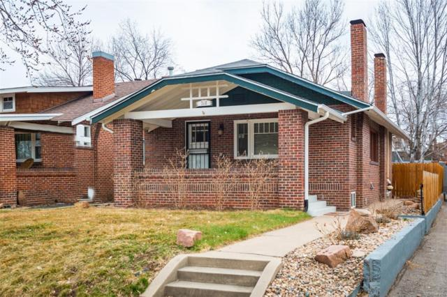718 S Sherman Street, Denver, CO 80209 (#3997052) :: The Griffith Home Team