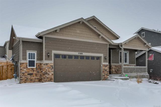 7789 Oasis Drive, Castle Rock, CO 80108 (#3998197) :: Compass Colorado Realty