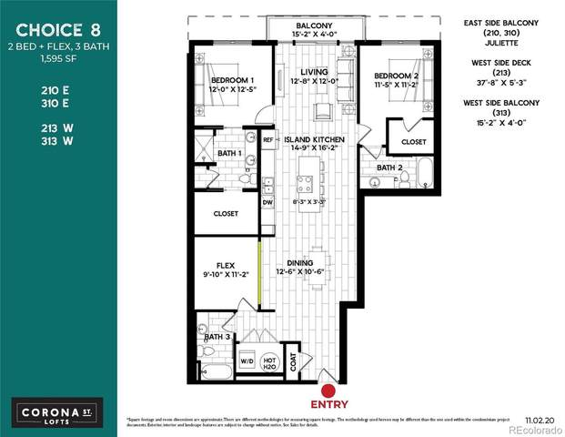 3500 S Corona Street #310, Englewood, CO 80113 (MLS #3999376) :: 8z Real Estate