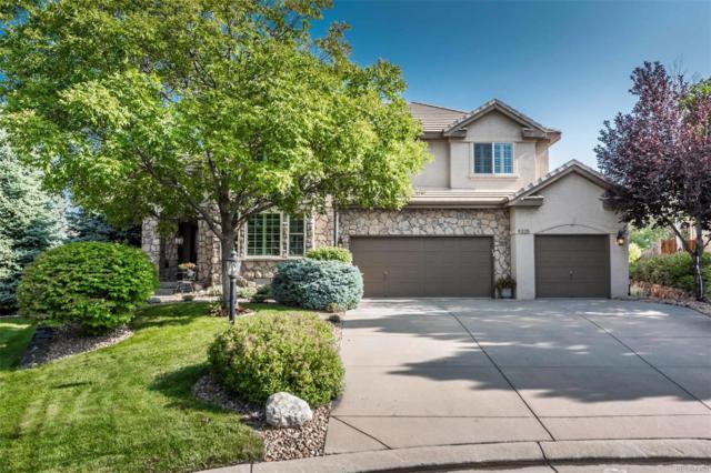 9325 E Aspen Hill Lane, Lone Tree, CO 80124 (#4001444) :: The Peak Properties Group
