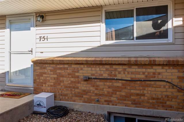 751 W Cleveland Circle, Lafayette, CO 80026 (MLS #4005185) :: 8z Real Estate