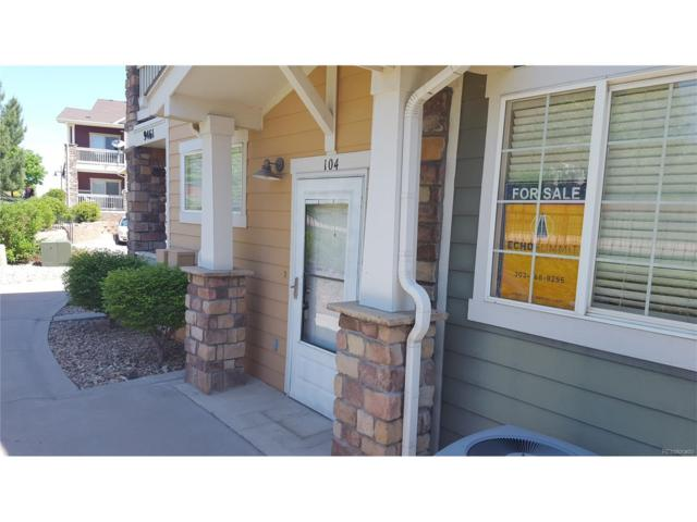 9461 Ashbury Circle #104, Parker, CO 80134 (#4006439) :: The Peak Properties Group