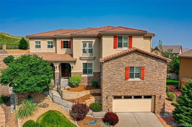 10455 Bluffmont Drive, Lone Tree, CO 80124 (#4007667) :: iHomes Colorado
