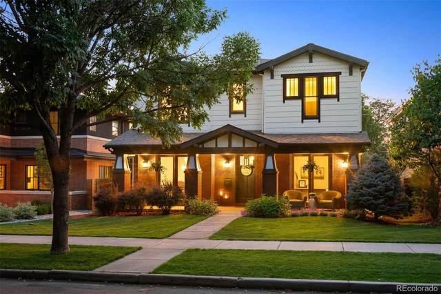 1481 S Vine Street, Denver, CO 80210 (#4007850) :: The HomeSmiths Team - Keller Williams