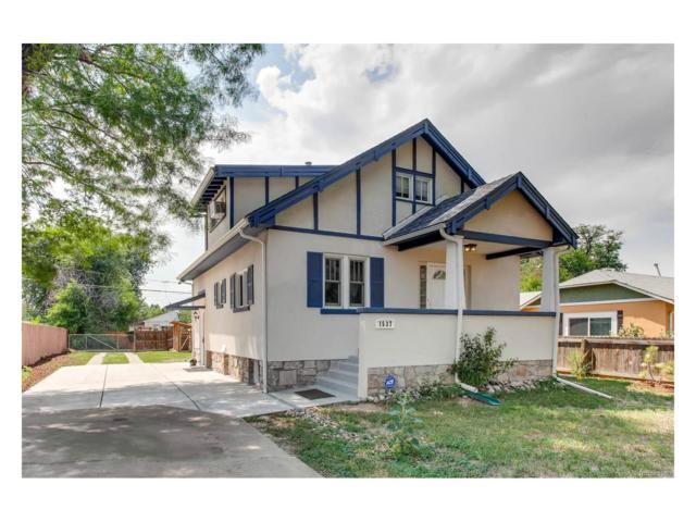 1537 Quebec Street, Denver, CO 80220 (MLS #4008789) :: 8z Real Estate