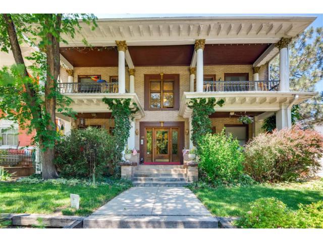 1421 N Gilpin Street #10, Denver, CO 80218 (#4010257) :: The Peak Properties Group