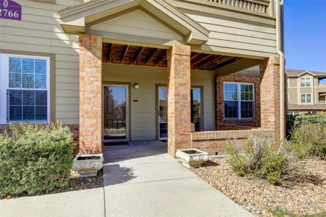 12766 Ironstone Way #102, Parker, CO 80134 (#4012476) :: The Griffith Home Team