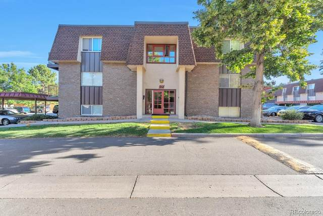7755 E Quincy Avenue #108, Denver, CO 80237 (#4017829) :: The HomeSmiths Team - Keller Williams