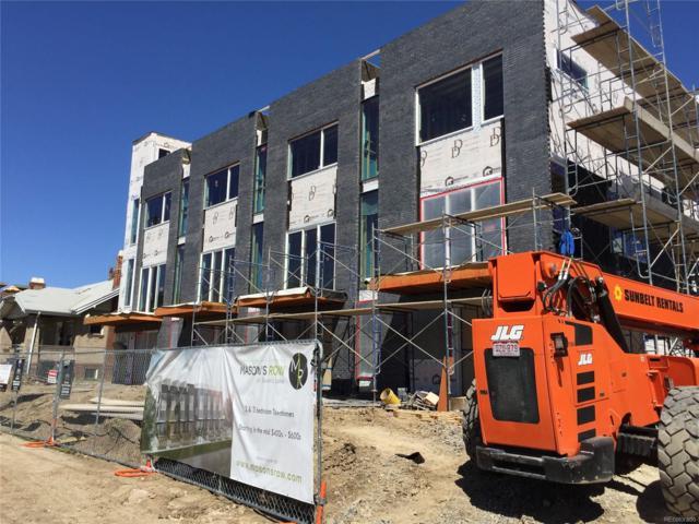 1628 Irving Street #3, Denver, CO 80204 (MLS #4019526) :: 8z Real Estate