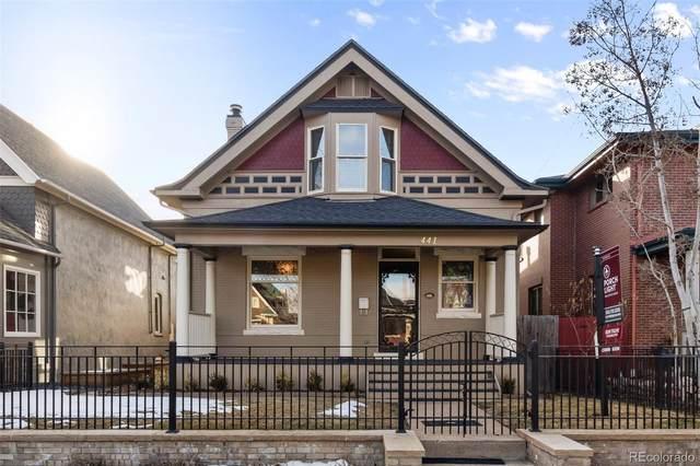 441 Pearl Street, Denver, CO 80203 (MLS #4022128) :: Bliss Realty Group