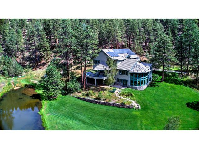 2674 Cold Springs Gulch Road, Evergreen, CO 80439 (#4033062) :: The Peak Properties Group
