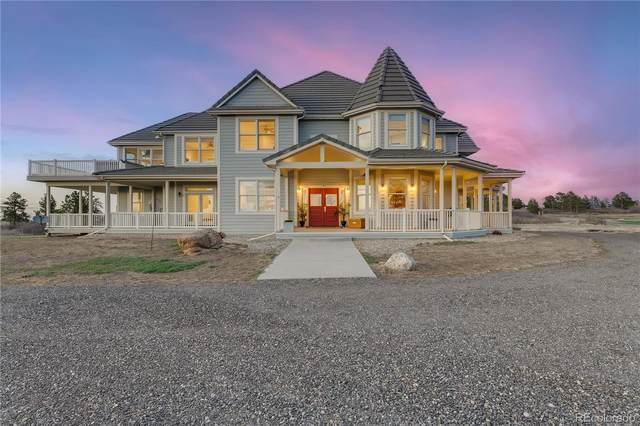 727 E Rim Road, Franktown, CO 80116 (#4035742) :: Stephanie Fryncko | Keller Williams Integrity