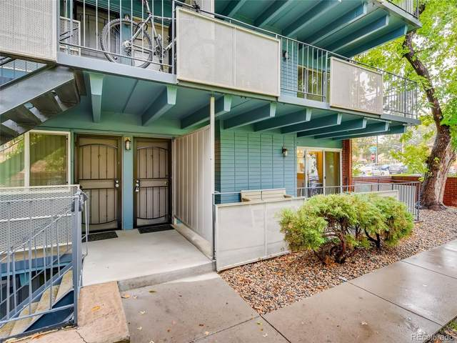 2401 S Gaylord Street #101, Denver, CO 80210 (#4039385) :: iHomes Colorado