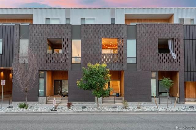 3233 Tejon Street #105, Denver, CO 80211 (#4042468) :: Finch & Gable Real Estate Co.