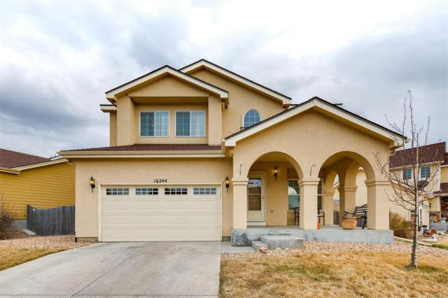 16244 E 107th Place, Commerce City, CO 80022 (#4043262) :: The Pete Cook Home Group