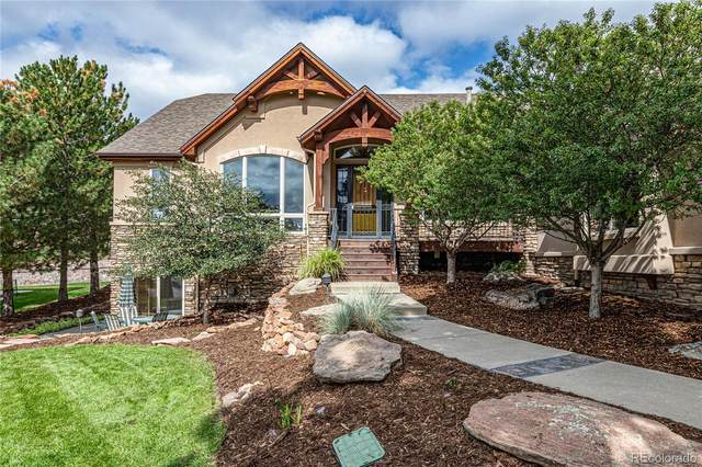 8447 Windhaven Drive, Parker, CO 80134 (#4046286) :: The Margolis Team