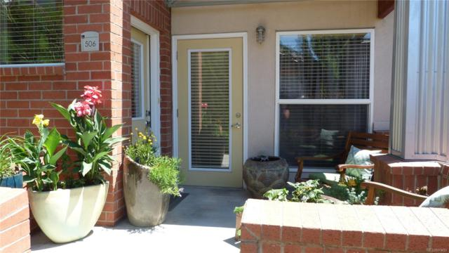 84 Spruce Street #506, Denver, CO 80230 (#4052309) :: My Home Team