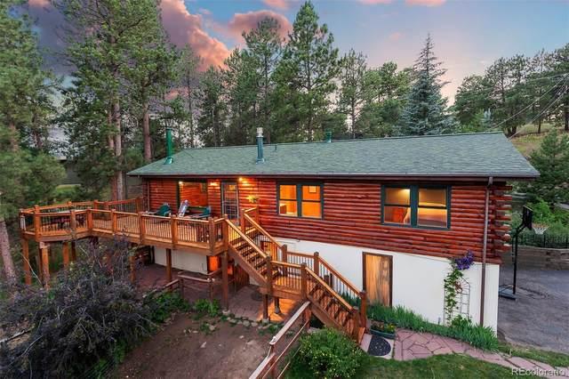 3892 Juniper Circle, Evergreen, CO 80439 (MLS #4056105) :: 8z Real Estate