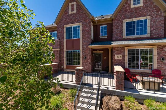 830 Bristle Pine Circle B, Highlands Ranch, CO 80129 (#4064504) :: Colorado Home Finder Realty