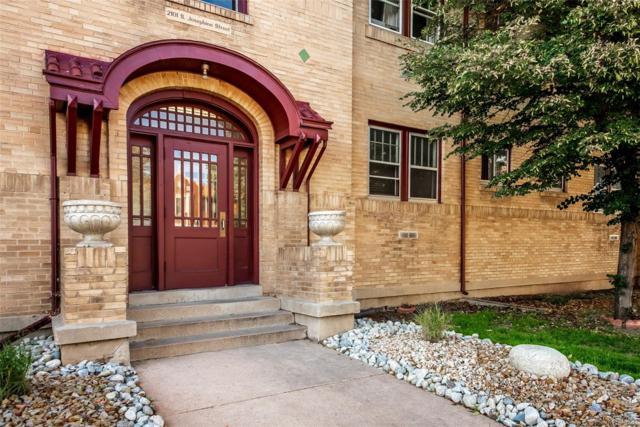 2101 S Josephine Street #103, Denver, CO 80210 (#4076292) :: Wisdom Real Estate