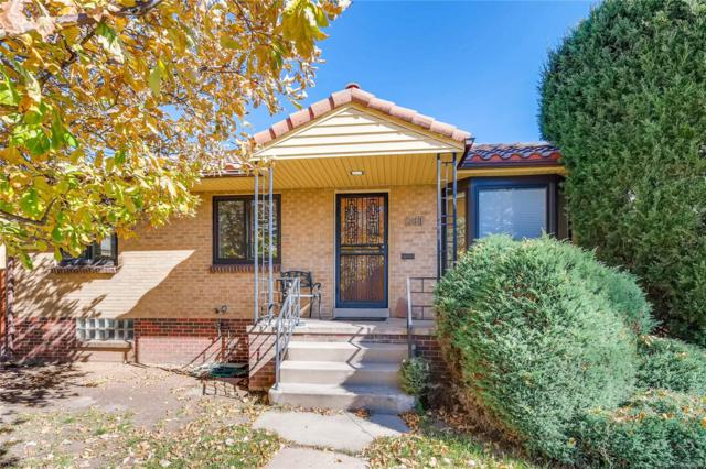 1480 S Monroe Street, Denver, CO 80210 (#4078804) :: 5281 Exclusive Homes Realty