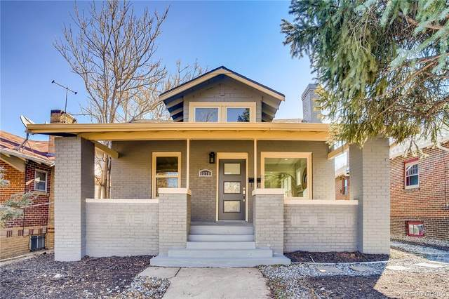1378 Elm Street, Denver, CO 80220 (MLS #4084483) :: Kittle Real Estate