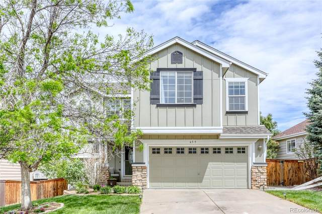 659 Timbervale Trail, Highlands Ranch, CO 80129 (#4085800) :: The Gilbert Group