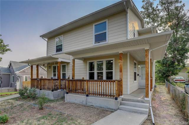 34 S Hazel Court, Denver, CO 80219 (#4090643) :: Peak Properties Group