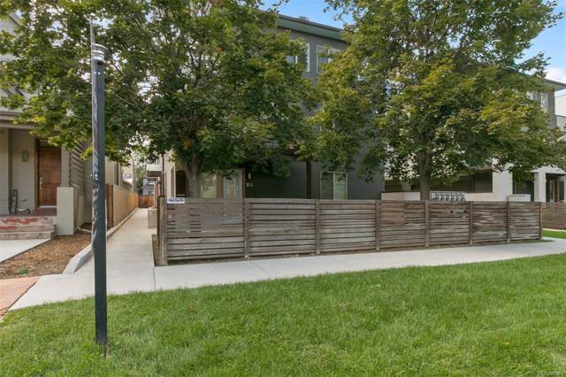 1883 Vine Street #103, Denver, CO 80206 (MLS #4090943) :: 8z Real Estate