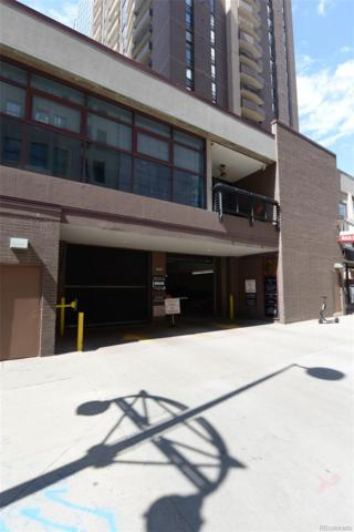 1020 15th Street Pkg-223, Denver, CO 80202 (#4094568) :: The Dixon Group