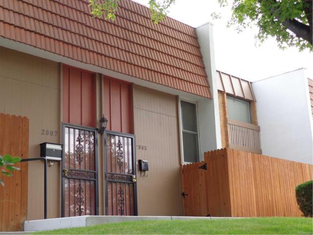 2805 S Locust Street, Denver, CO 80222 (#4095382) :: The HomeSmiths Team - Keller Williams