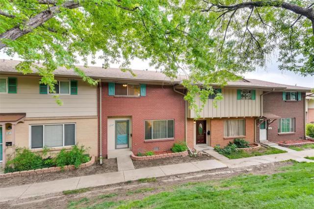 12560 W Virginia Avenue, Lakewood, CO 80228 (#4095465) :: The HomeSmiths Team - Keller Williams