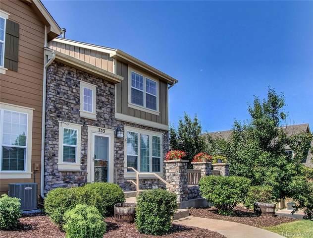 753 Stony Mesa Place, Castle Rock, CO 80108 (#4104171) :: Finch & Gable Real Estate Co.