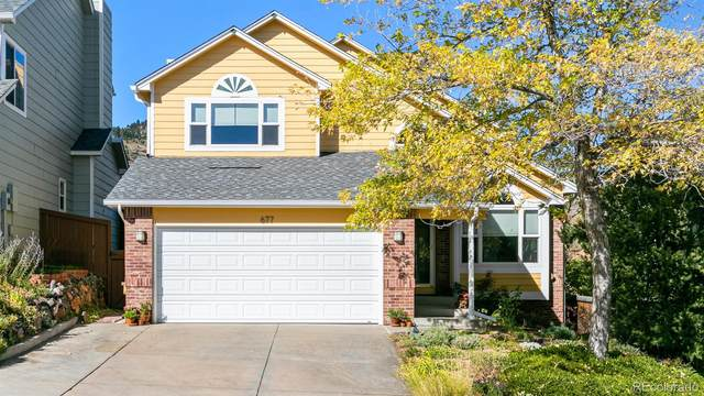 677 Somerset Drive, Golden, CO 80401 (#4104323) :: The DeGrood Team